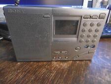 Sony ICf 7600 GR Weltempfänger silber