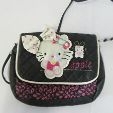 APPLE GIRLS HANDBAG  CAT DESIGN PRETTY BAG