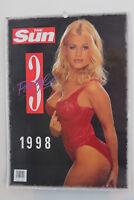 (NEW! MINT!) The Sun Page 3 Girls 1998 Calendar Vintage - Ft. Melinda Messenger