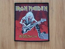 IRON MAIDEN - FEAR OF THE DARK LIVE (NEW) SEW ON W-PATCH OFFICIAL BAND MERCH