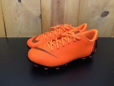 Nike JR Mercurial Vapor 12 Academy GS MG  soccer cleats Orange SZ 5Y AH7347-810