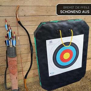 YATE Bogenschießen Zielscheibe mit GRIFF Polimix Junior 80 x 60cm Targets 45lbs