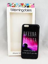 """BLOOMINGDALE'S """"HAKUNA MATAT"""" iPhone 6/6s Plus Case  Msrp $36.00"""