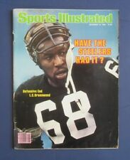 Sports Illustrated L. C. GREENWOOD PITTSBURGH STEELERS 11/10/80 No Label