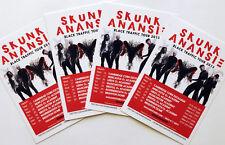 4 X SKUNK ANANSIE BLACK TRAFFIC TOUR FLYER POSTCARDS