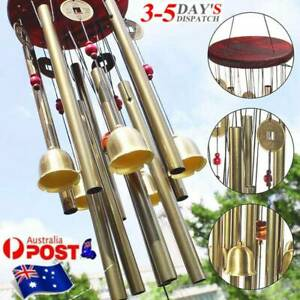 Best - Wind Chimes Bells Metal Church Bell Outdoor Garden Art Decors AU
