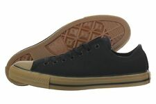 CONVERSE ALL STAR CHUCK TAYLOR OX TRAINERS SPORT MEN SHOES BLACK/GUM SIZE 10 NEW