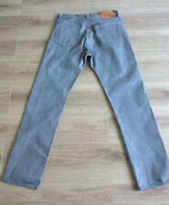 LEVI'S 501 JEANS RED TAB SIZE 34 X 35 GREY SEE DESCRIPTION