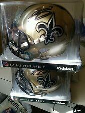 NO Saints Steve Weatherford autographed mini helmet