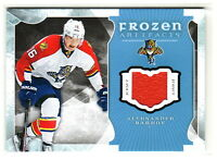 2015-16 UD Artifacts FROZEN ARTIFACTS JERSEY RELIC ALEKSANDER BARKOV Panthers