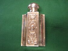 Museum Quality Vintage Antique 1870's STERLING SILVER Tea Caddy  Hanau, Germany