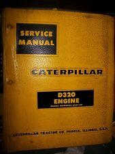 Caterpillar D320 Engine 1963 63B1 : Service Manual