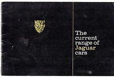 Jaguar 1968-69 UK Market Sales Brochure 240 XJ6 420G E-Type