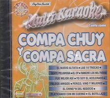 Compa Chuy Y Compa Sacra Multi Karaoke Nuevo Sealed