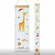 NUOBESTY Growth Chart Ruler 1PC, 200cm Measuring Kids Height Wall Decor Kids
