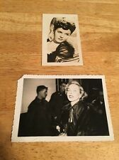 Lot of 2 Photographs - Vintage DIANA LYNN