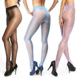 missO 20D Shiny Crotchless Pantyhose | Silky Smooth Sheer to Waist | Plus Sizes