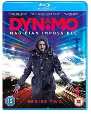 Dynamo Magician Impossible Complete Series 2 Blu Ray New Original UK Release R2