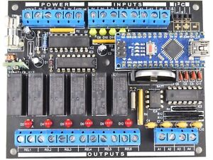 CANADUINO powerful PLC MEGA328 100-12 Electronics DIY Kit with Arduino* NANO V3