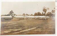 .WW1 BELLS PADDOCK ENOGGERA, QLD. PARADE GROUND & BARRACKS REAL PHOTO POSTCARD.