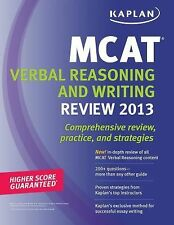 Kaplan MCAT Verbal Reasoning Review (2013) Review, Practice Tests and Strategies