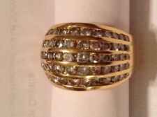 FANCY DIAMOND  2.60 CARAT COCKTAIL RING IN 18KT YELLOW GOLD