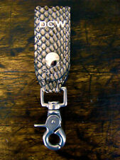 New Stitched Genuine Cobra Key Hanger Made in Usa