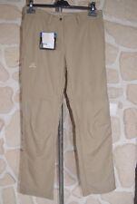 Pantalon beige neuf taille 40 FR Navajo Elemental Ad Zip Off Pant marque Salomon