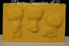 Disney Brave silicone mould/mold Chocolate/party/fondant/sweet/Bears/Brothers