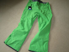 BRAND NEW MENS DARE2B ENERGY GREEN STRAIGHT UP TECHNICAL SKI TROUSERS SIZE 2XL