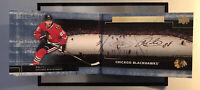 2016-17 Patrick Kane Chicago Blackhawks UD Premier Signature Booklets GOLD Auto
