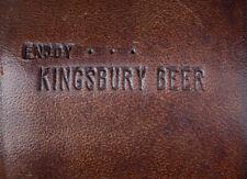 KINGSBURY BEER-MANITOWOC Vintage 1960's Dice Cup