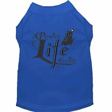 Mirage Pet Products A Pirate's Life Embroidered Dog Shirt Blue Sm (10)