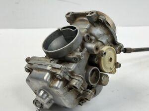 99 Yamaha Big Bear 350 4X4 Engine Intake Fuel Air Carburetor Mikuni Carb Cable