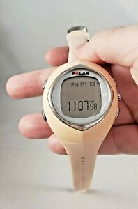 Polar Womans F6 Watch Light Pink/Coral With New Battery, WATCH ONLY