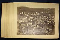 Konvolut aus 21 original Fotografien von Karlsbad (Karlovy Vary) um 1880 sf