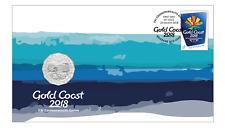 **2018 Australian Gold Coast 50 cent coin PNC**
