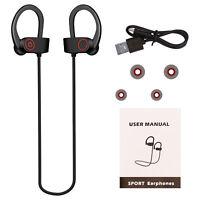 Waterproof Bluetooth Earbuds Stereo Wireless Headphones in Ear Sports Headset