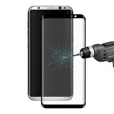 Schwarze Hartglas Displayschutzfolien für Samsung das Galaxy S8