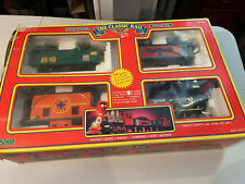 Echo The Classic Rail 18pc Battery Operated Train Set Vintage 1990 Toy