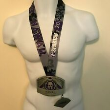 Spartan Race Hawaii 2019 Ultra Buckle Medal New with wedge Quick Free Shipping