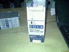 SOLA Power Supply SDN 2.5-24-100P, OVP