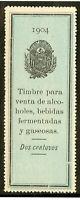 Salvador Stamps 1904 Revenue Excellent Condition