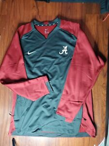 Nike NWT Men's Alabama Crimson Tide Roll tide Pullover Sweater Sz XL
