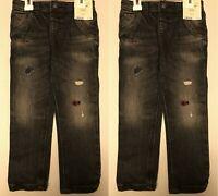 lot of 2 Genuine Kids By Oshkosh Boy's Toddler Skinny Jeans Black Size 3T New