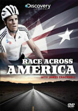 RACE ACROSS AMERICA WITH JAMES CRACKNELL DVD NEW SEALED UK REGION 2