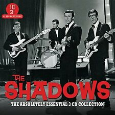 THE SHADOWS - ABSOLUTELY ESSENTIAL COLLECTION: 3CD ALBUM SET (2014)