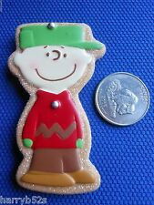 HALLMARK 2010 FRIDGE MAGNET Christmas CHARLIE BROWN Sugar COOKIE Peanuts -NEW