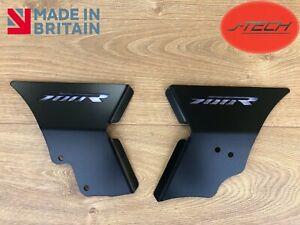 Yamaha Raptor 700 Rahmen Protektoren Schutz Bezüge YFM 700. Qualität Schwarz