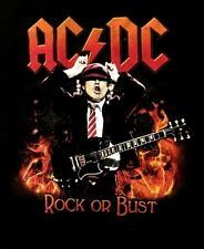AC/DC cd lgo Rock or Bust HIGHWAY TO AMERICA 2016 Official TOUR SHIRT 2XL new